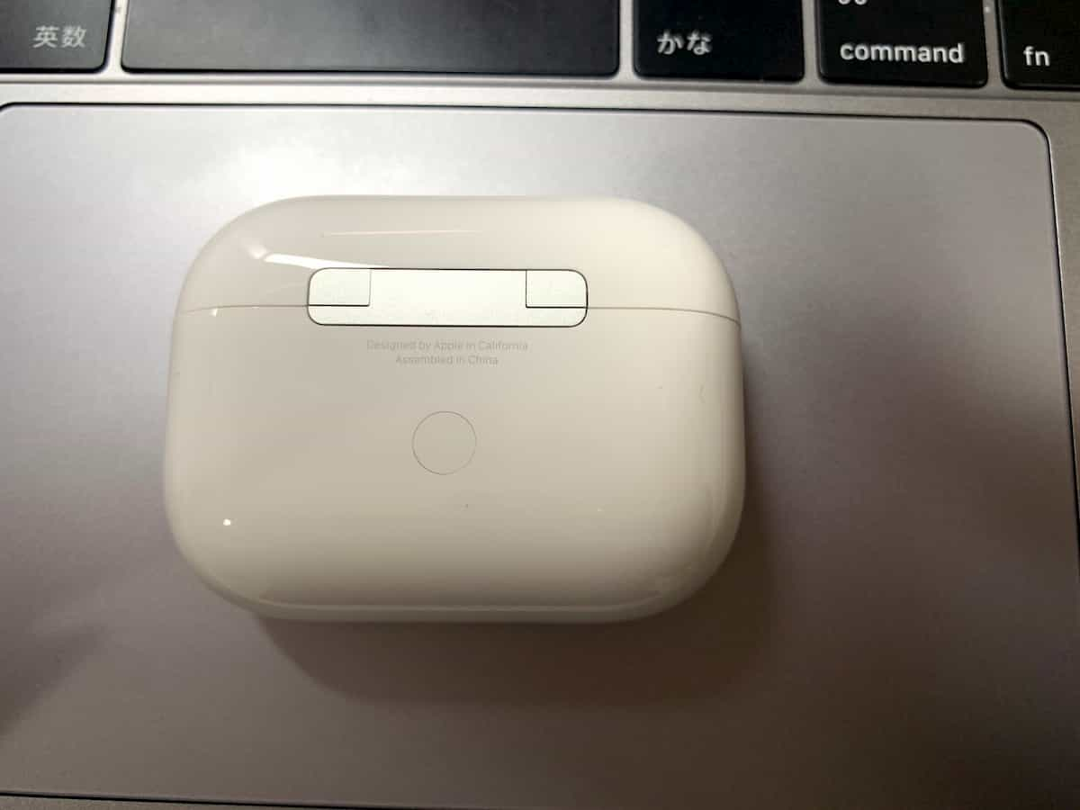AirPods Proのケース裏面