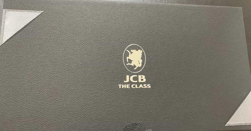 JCB THE CLASSのカード保管箱