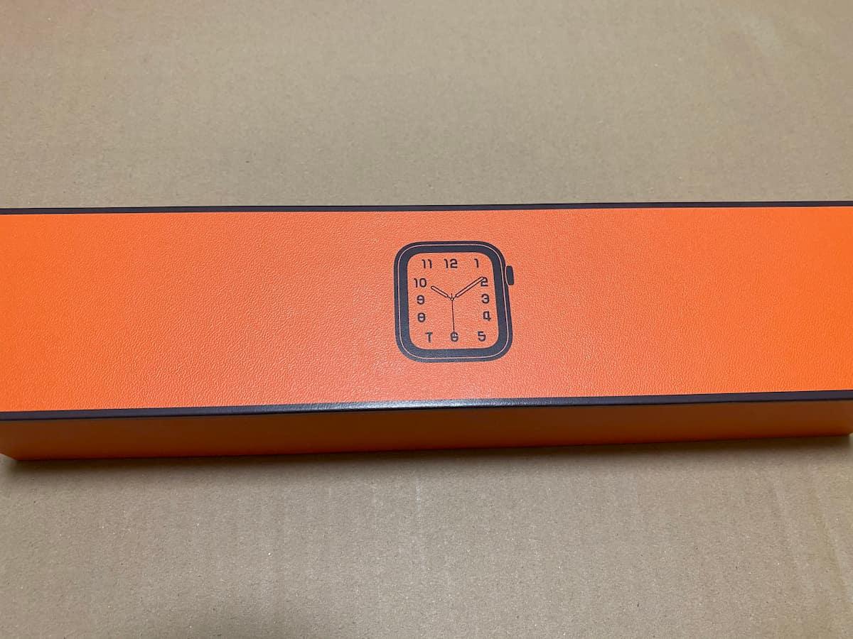Apple Watch本体の化粧箱