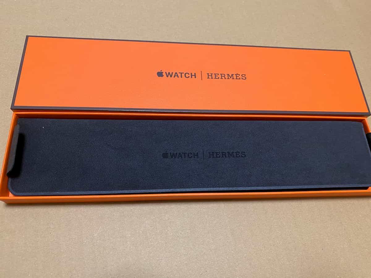 Apple Watchレザーストラップの箱